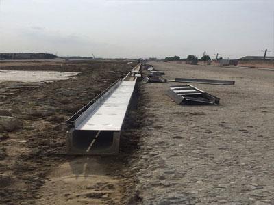 fu州南三环bian成品排水沟施工图